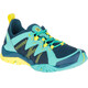 Merrell Tetrex Rapid Crest Shoes Women turquoise/teal